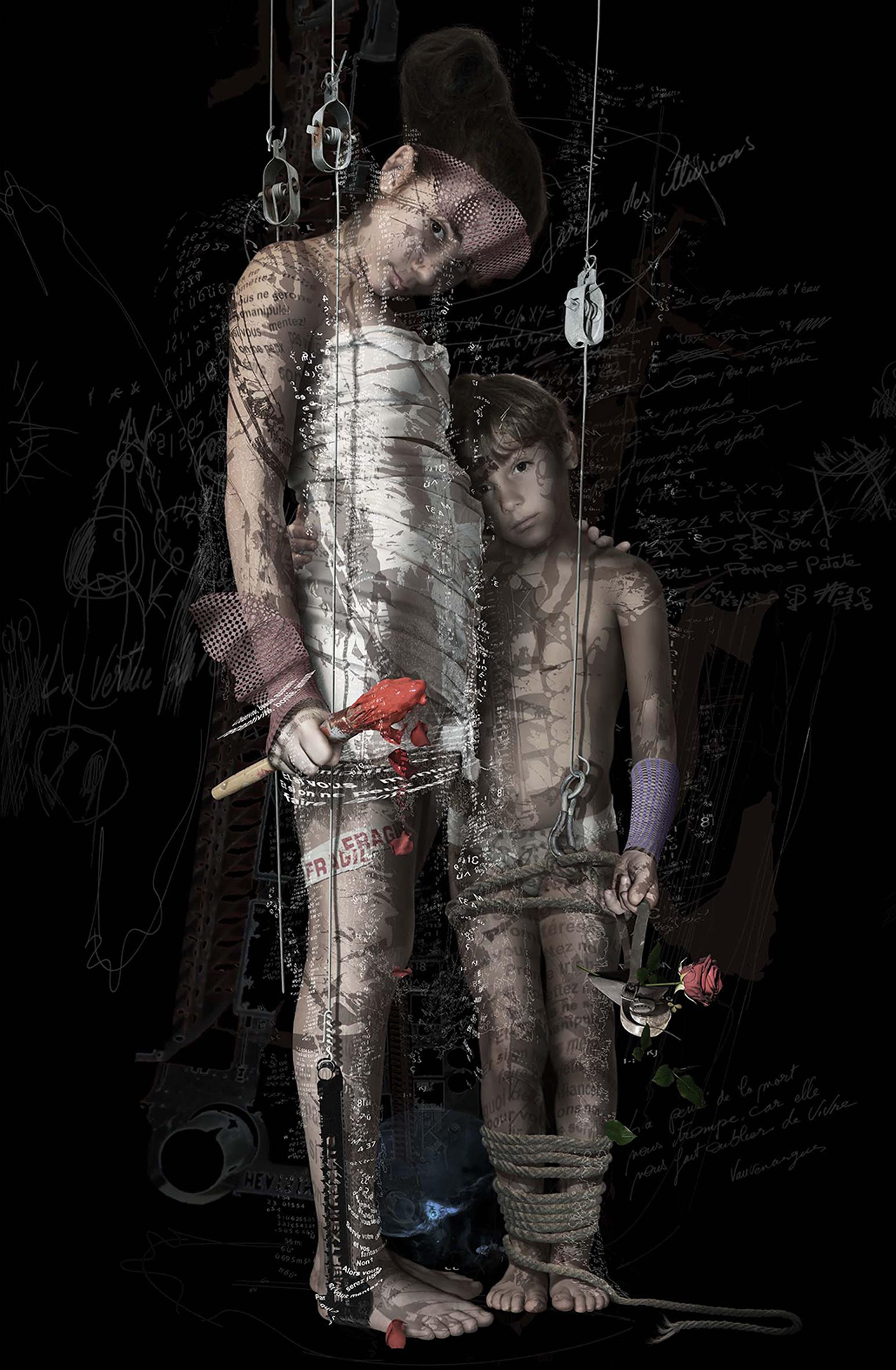 Fernand d'Onofrio - Le jardin des illusions