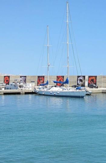 Tunisie - port de Yasmine