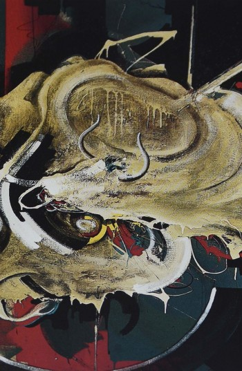 Fernand d'Onofrio - Etude pour une tauromachie