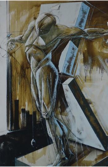 Fernand d'Onofrio - La crucifixion